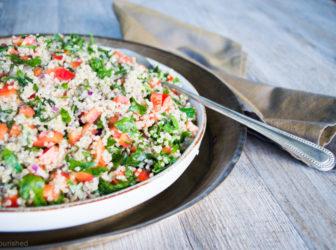 Our Food expert, Georgie Harding shares her Quinoa Tabbouleh Recipe- Guest Blog