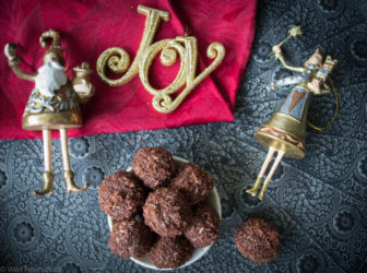 Healthy & Quick Christmas Truffles- by Georgia Harding