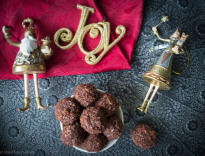 Healthy & Quick Christmas Truffles- by Georgia Harding